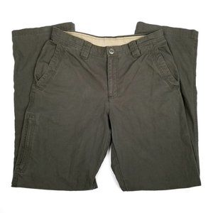COLUMBIA | Green South Canyon Outdoor Pants 32x32